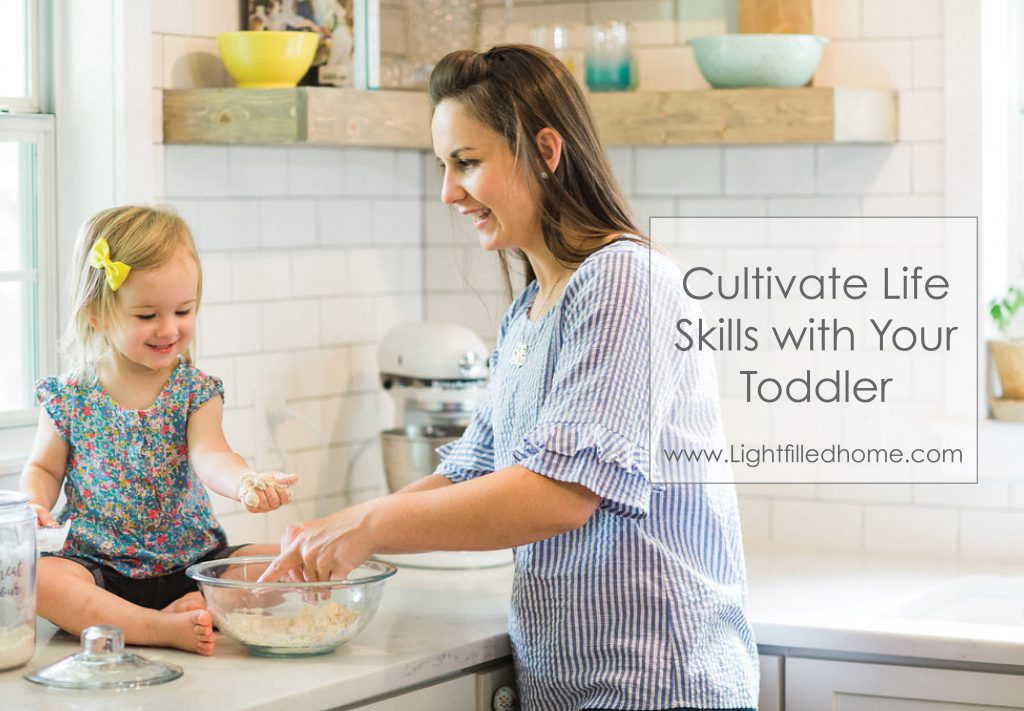 Cultivating Like Skills with Your Toddler | Lightfilledhome.com