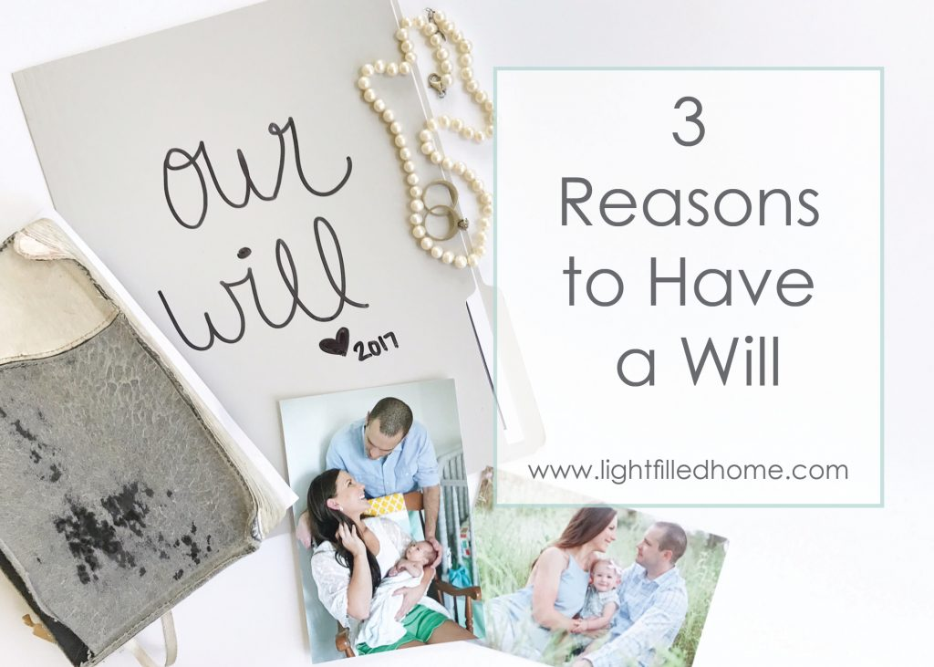 Importance of having a will | Lightfilledhome.com