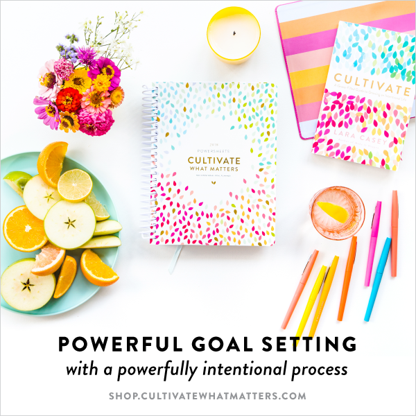 Intentional Goal Planning | Light Filled Home
