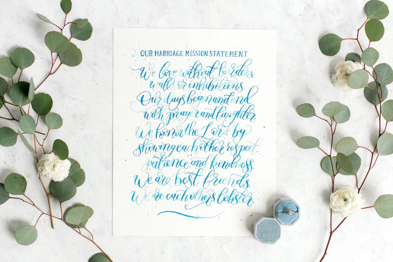 Writing Your Marriage Mission Statement | Lightfilledhome.com/blog