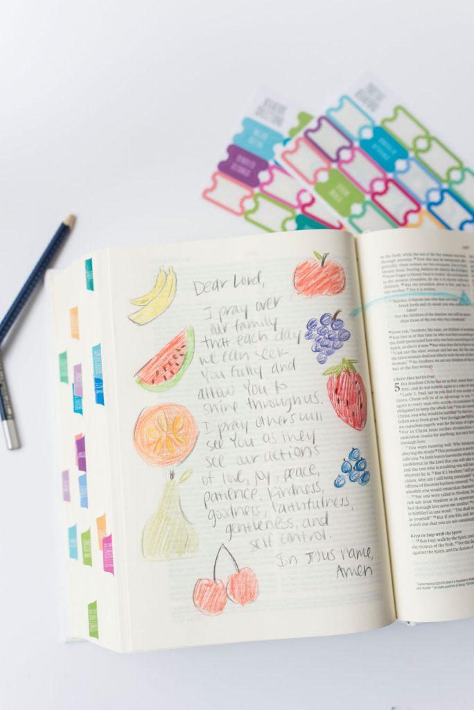Family Teaching Bible | Lightfilledhome.com/shop