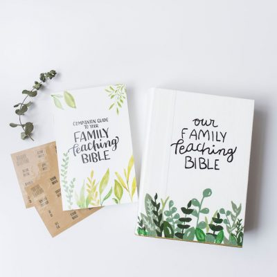 Family Teaching Bible | Lightfilledhome.com