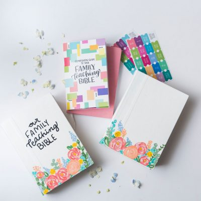 Family Teaching Bible Bundle | Lightfilledhome.com/shop