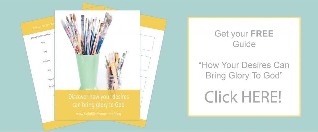 Glory to God |  Lightfilledhome.com/blog
