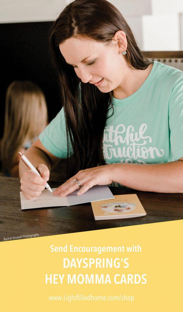 Send Encouragement with Hey Momma Cards | Lightfilledhome.com/blog