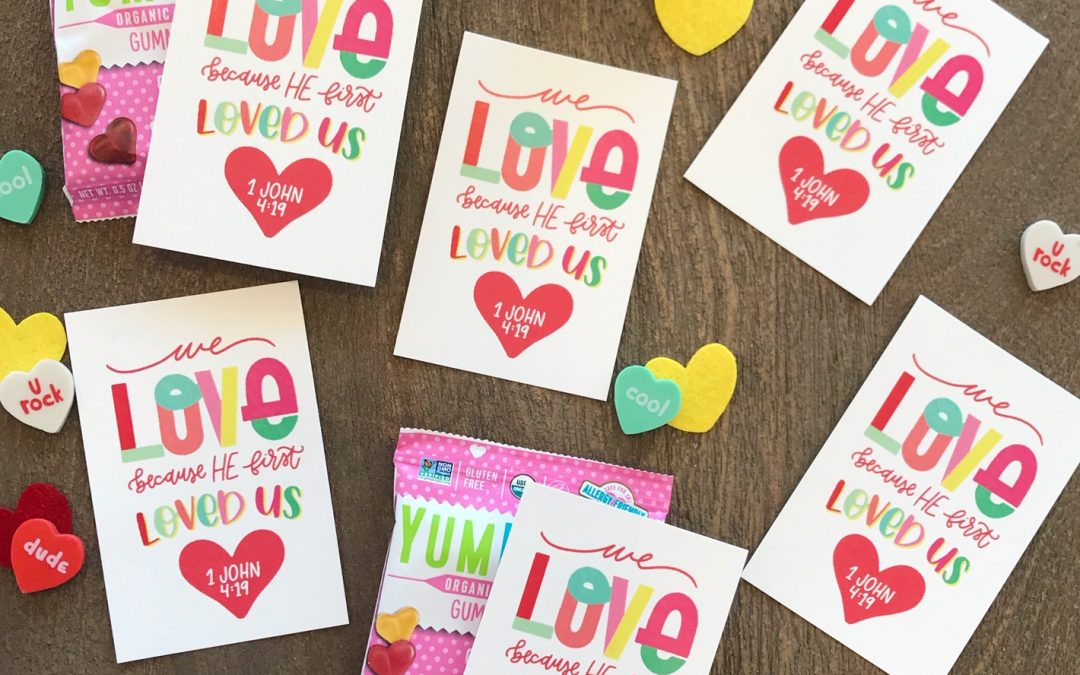 Christ-centered Valentine's Printable | Joyful Type Co.