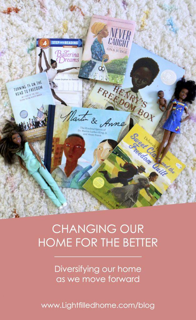 Moving Forward, Diversifying our home   Lightfilledhome.com/blog